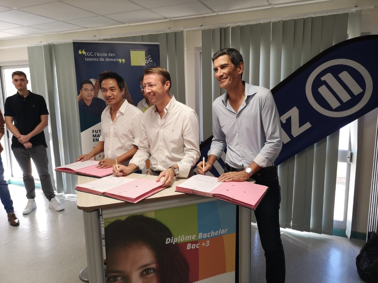 signature convention parainage Allianz-EGC